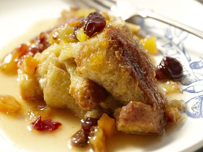 A modern twist on the tradition Irish bread pudding recipe