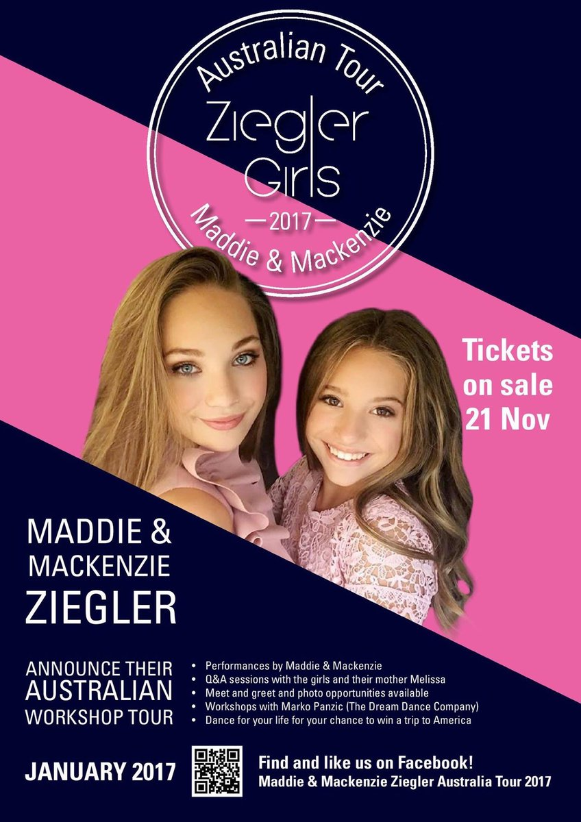 Maddie ziegler on twitter tickets are on sale now for our maddie ziegler on twitter tickets are on sale now for our australian workshop tour on monday 21st november at 12noon aest m4hsunfo