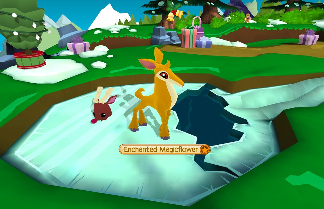 Image of: Drawing Deer And Pet Reindeer Have Arrived In Play Wild Just In Time For The Jamaaliday Season Start Exploring Today animaljam playwildpictwittercom Twitter Animal Jam On Twitter
