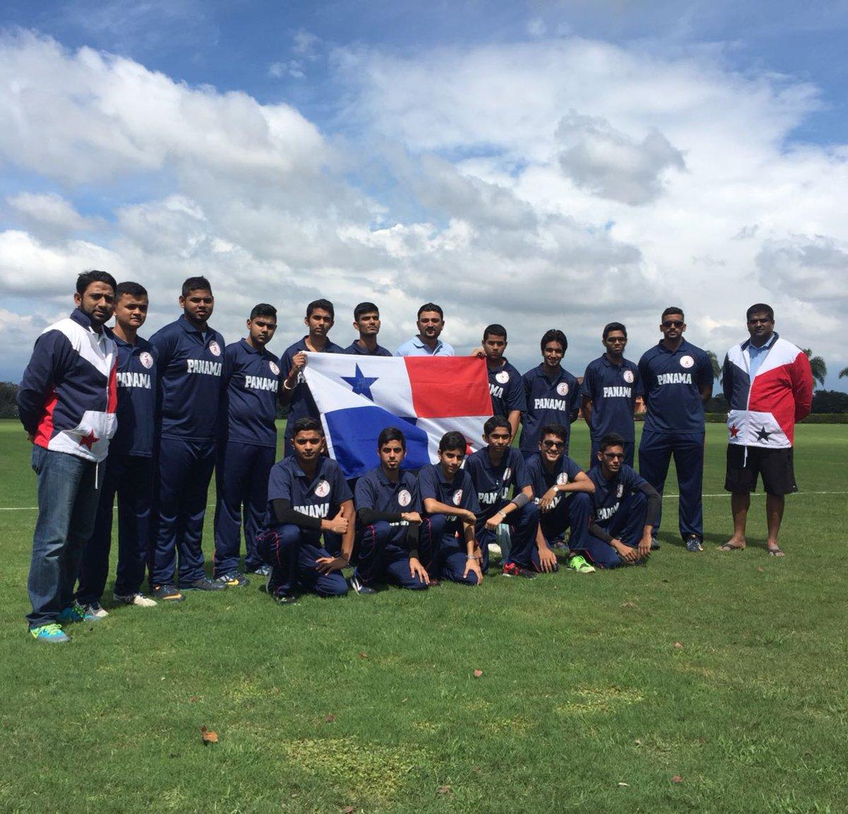 Cricket Panama On Twitter Ya Estamos Instalados En Costa Rica El Salvador Vs Panama Centroamericanosub 19