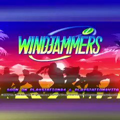 Dreams can come true! Windjammers is coming to PS4. #PSX16