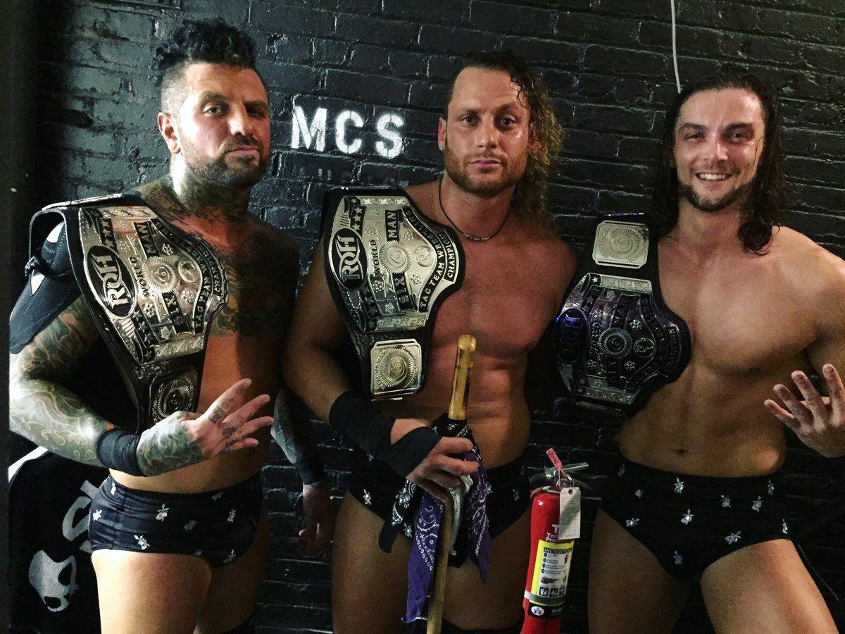 The Kingdom conquista o ROH Trios Championship - House of ...