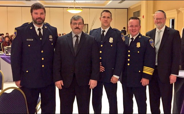 Several of our Northwest District officers were honored tonight at the Northwest Citizens Patrol reception.