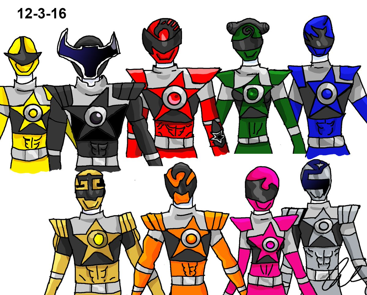 Q Serenity ⁓ All The Kyuuranger