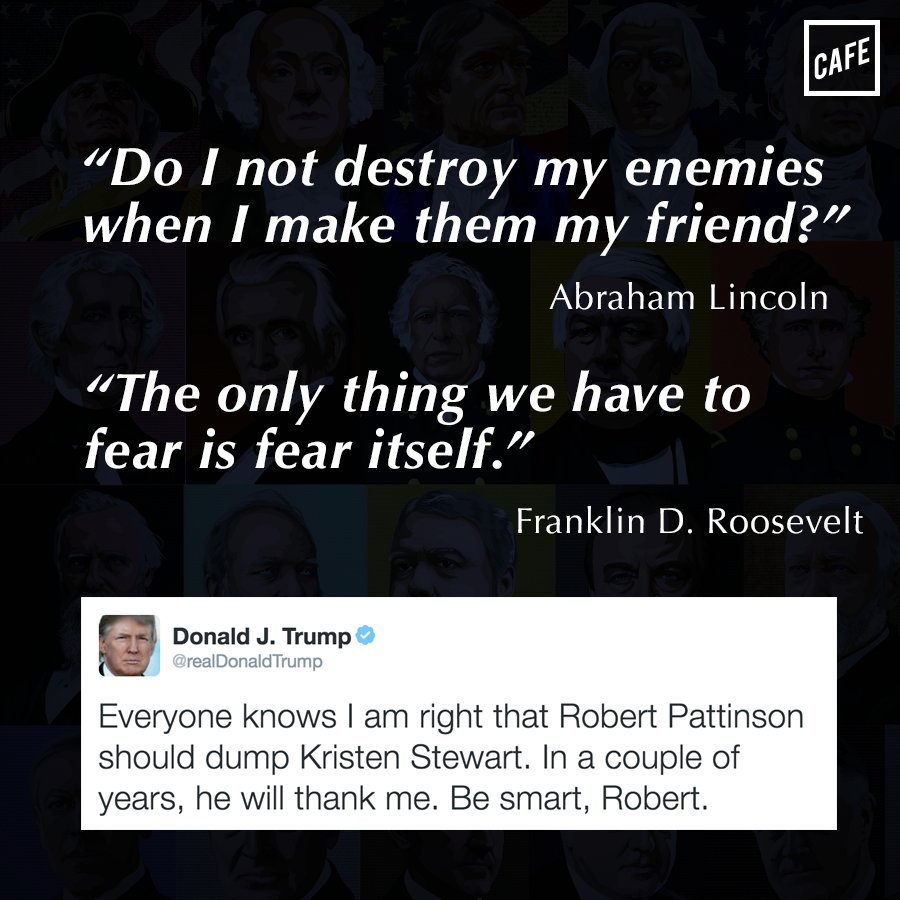 .@realDonaldTrump Mr. Trump is an amazing orator, will have historic quotes as POTUS!