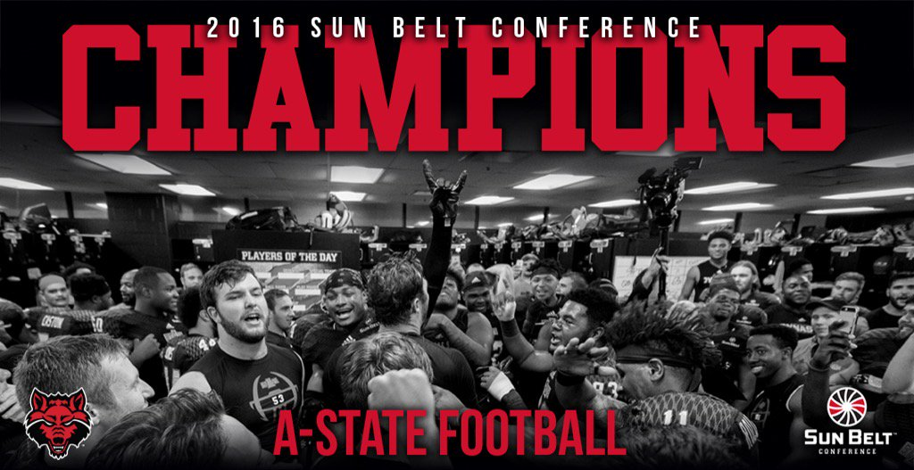 We are the only school in the country that can claim it. Five conference championships in six years. #WolvesUp https://t.co/m5om8WALnA