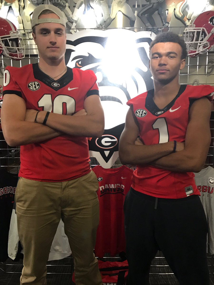 Ryland Goede (left) and Dominick Blaylock (right) (Photo from Ryland Goede / Twitter)