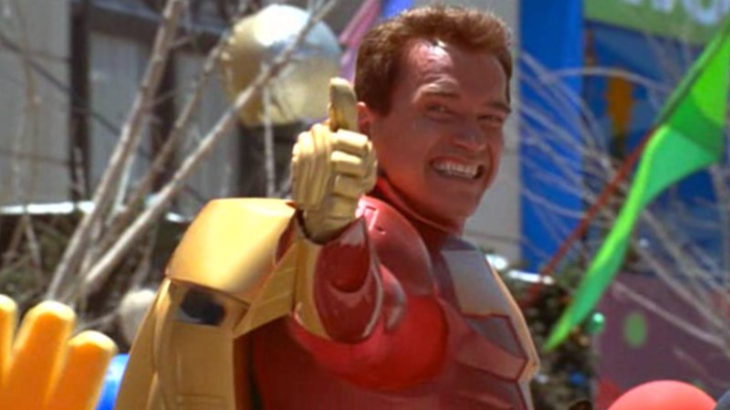 Kickstarter bringing back Jingle All The Way's Turbo Man craze.