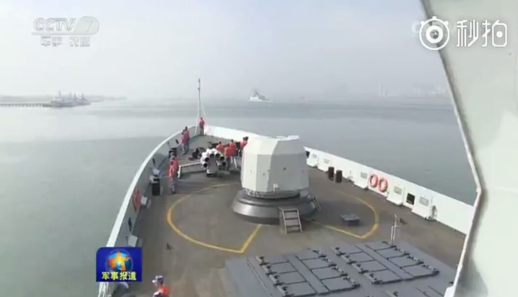 China: Chinese navy fleet en route towards the Gulf of Aden