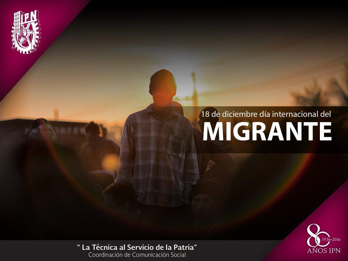 #DíaInternacionalDelMigrante Por un mundo sin fronteras y el respeto de sus derechos. #Soymigrante