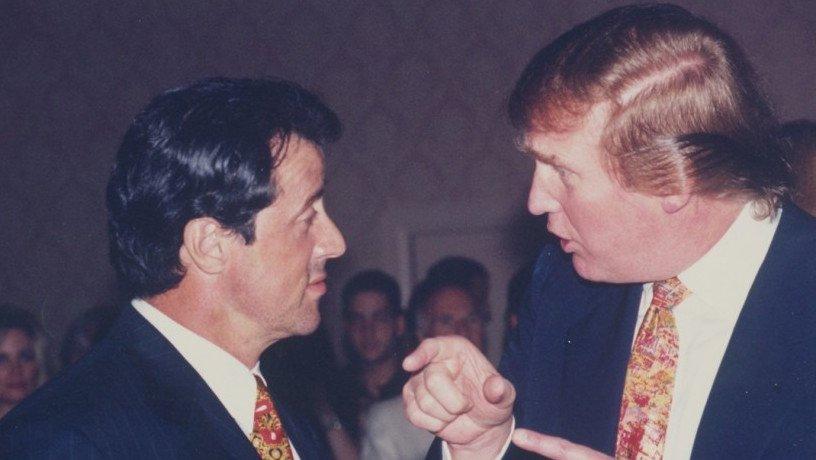 Donald Trump propose un poste à Sylvester Stallone…Voici la réponse de l'acteur !