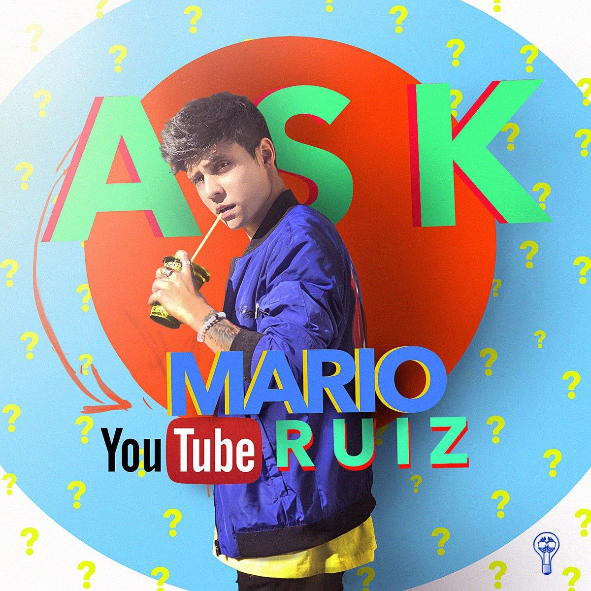 Faltan 10 minutos para el nuevo videoooo!! #NuevoVideoDeMarioRuiz