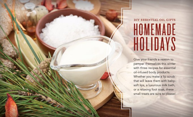 Homemade Holidays: DIY Essential Oil Gifts