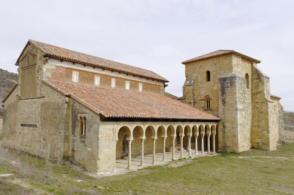 El monasterio de San Miguel de la Escalada está en León ubicado en el camino de Santiago. Arte mozárabe del siglo X. #storat1 #TC https://t.co/5tZtSyEzer