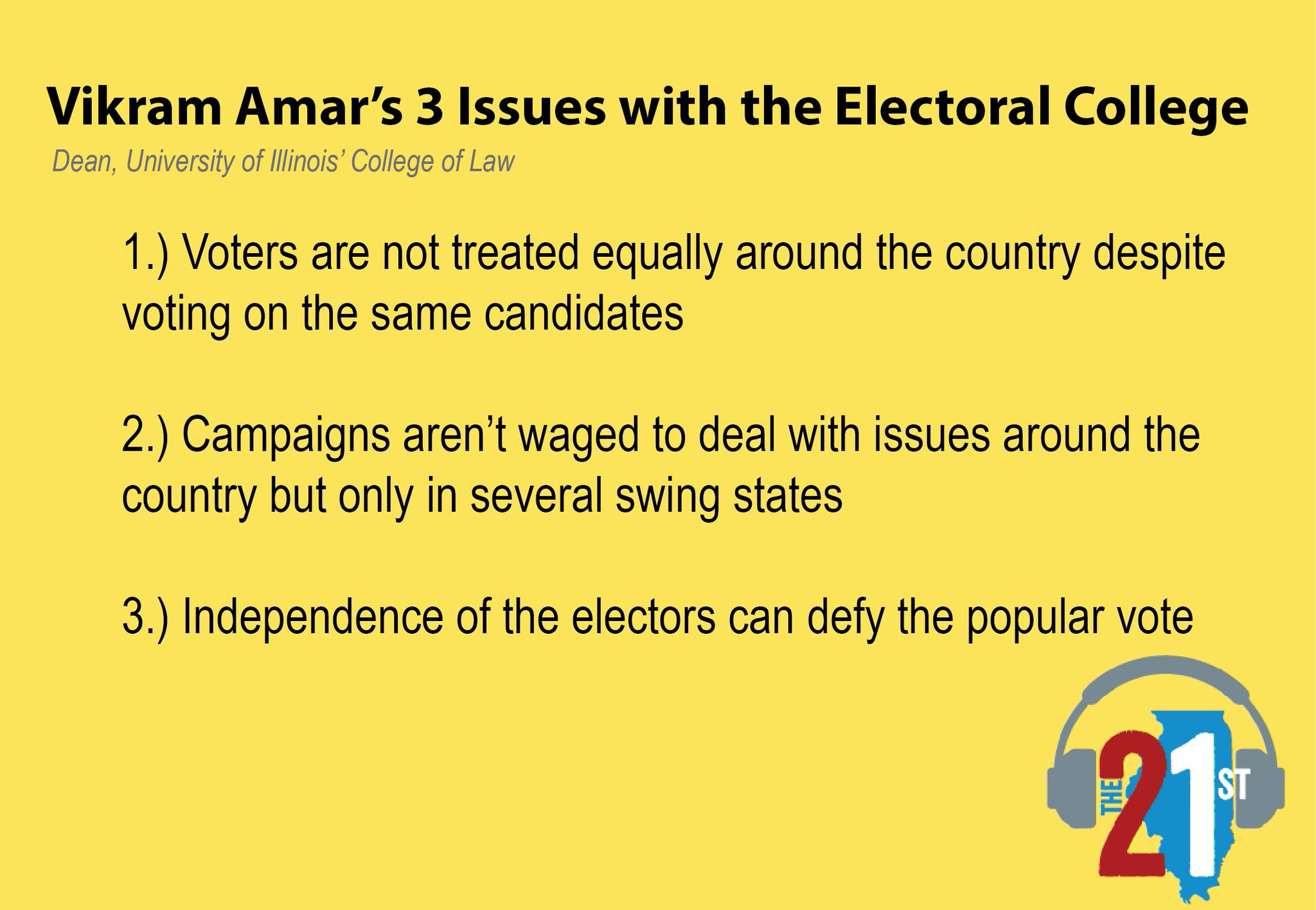 holiday book guide 2016 electoral college explained lucy smith s we spoke vikram amar from the uillinoislaw about the electoral college