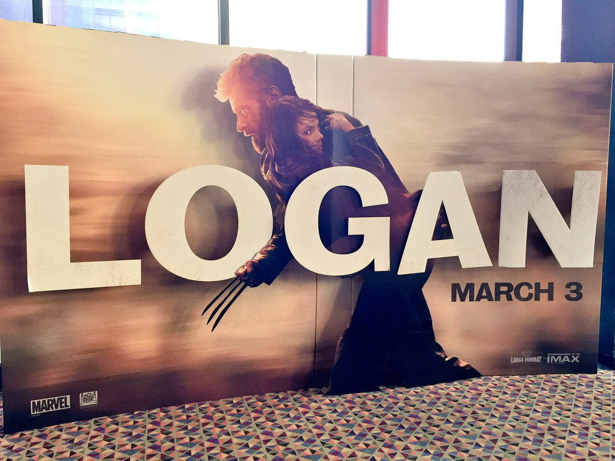 Pretty rad #Logan standee here at the AMC in Times Square. cc: @RealHughJackman<br>http://pic.twitter.com/UP604NDoZi