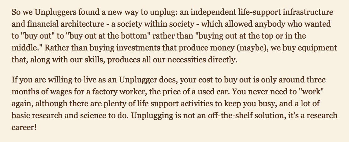Just read _The Unplugged_ by @leashless, very short & fun read. https://t.co/aMc16oftvT https://t.co/GPnazJbUhO