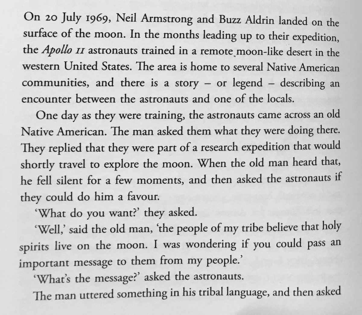 If true, this is the saddest story I ever read about the moon landings. #Sapiens https://t.co/CMJdqIKgM7
