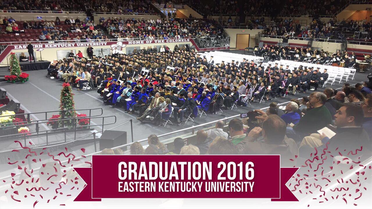 Congratulations, graduates! #EKUGrad 🎓🙌 https://t.co/6ID9E30VkP