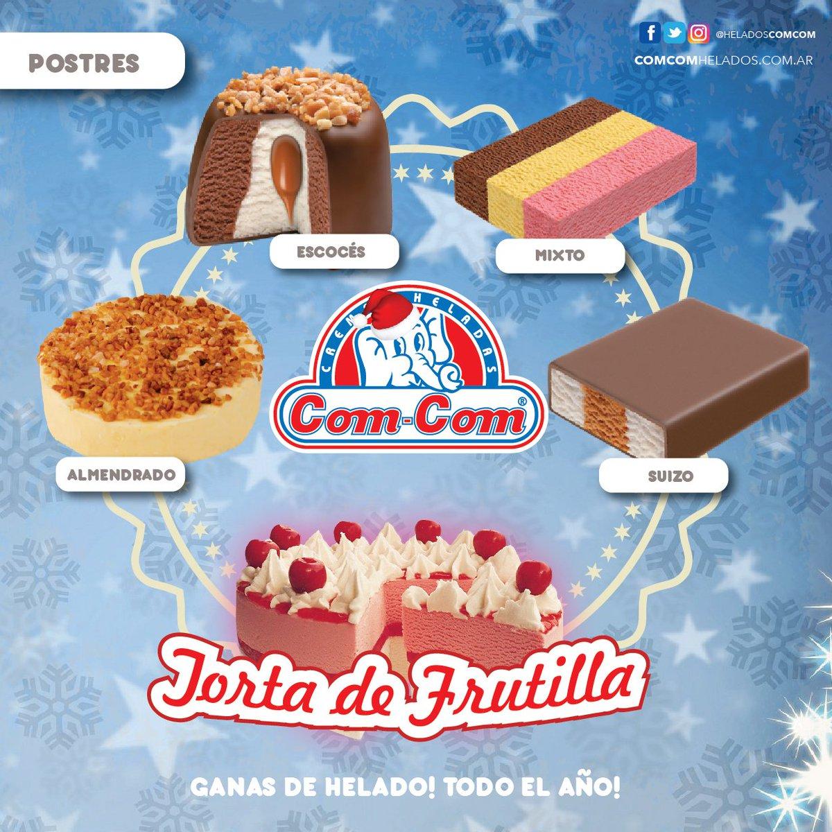 Postres Para Una Feliz Navidad.Helados Com Com On Twitter Compra Los Mejores Postres