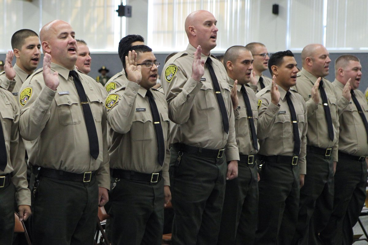 Correctional officer uniform.