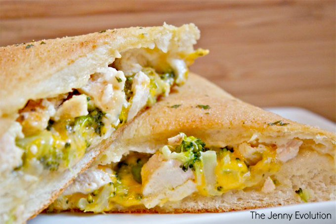 Chicken Broccoli Cheddar Hot Pocket Recipe