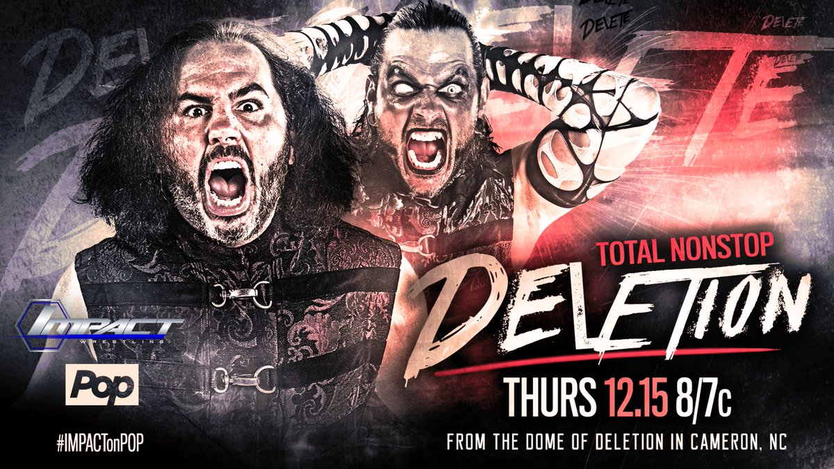 Watch #TotalNonstopDeletion in its entirety! Now online: https://t.co/NnfxhbOp6J https://t.co/WMj2bOjrq9