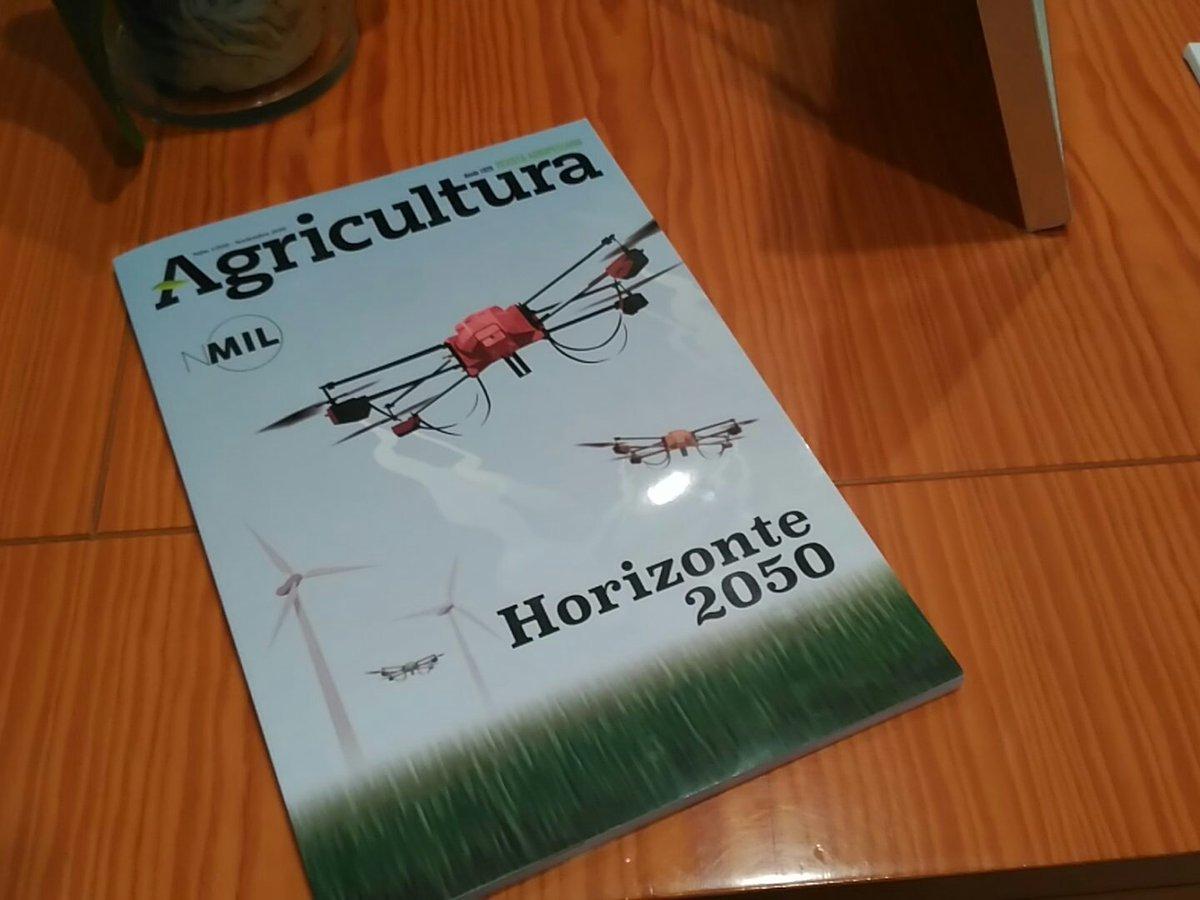#Los1000deAgricultura es #PeriodismoAgroalimentario del bueno y en vena. Ejemplar para la historia.