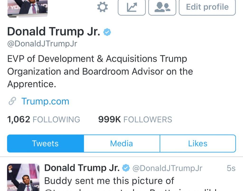 Just noticed this!!! Think I'll break 1,000,000 followers tonight? #RT #letsdothis