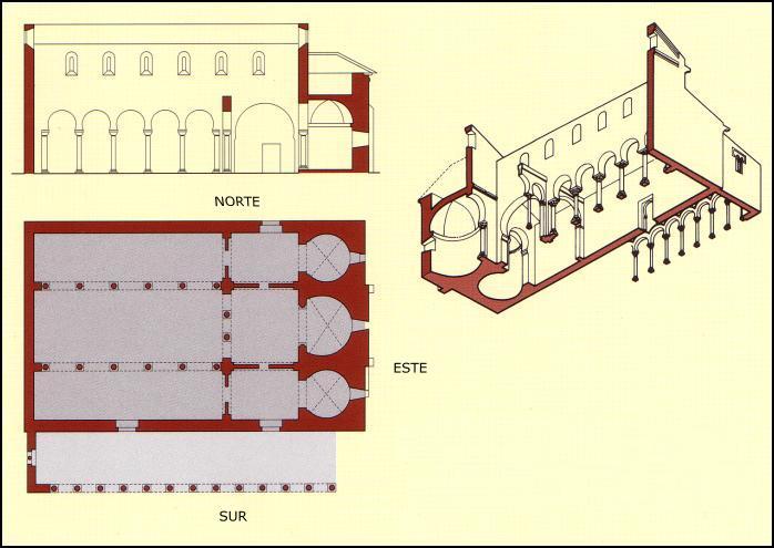 La iglesia tiene planta basilical con tres naves diáfanas, las laterales más estrechas y bajas que la central, cubierta de madera. #storat1 https://t.co/rEB0Tj4qt1
