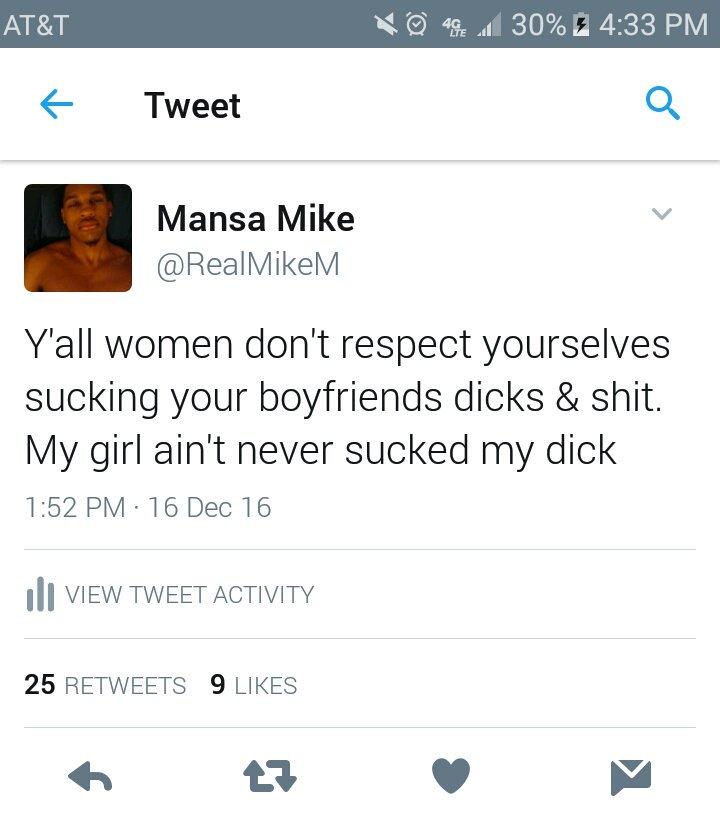 Talk. why women like suck dick really
