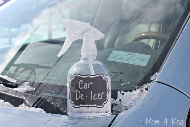 2 Ingredient Car De-Icer Spray