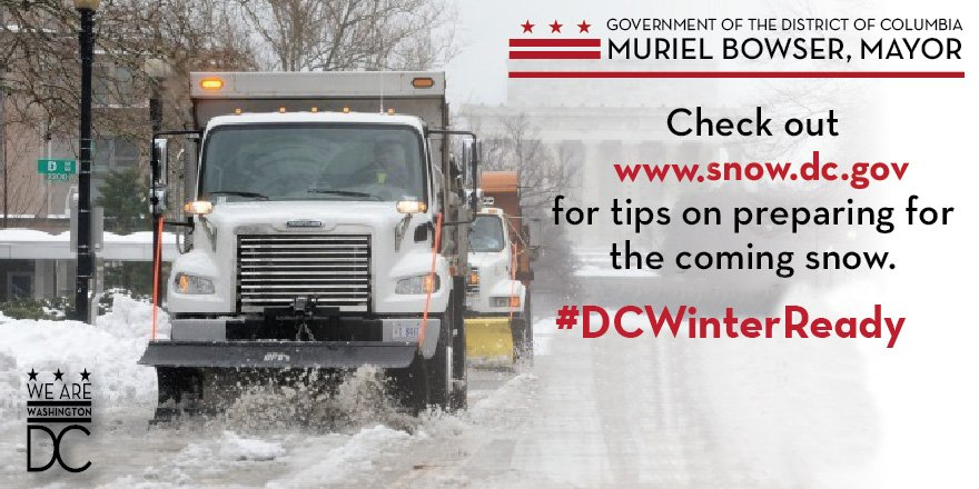 For up to the minute updates please visit https://t.co/6RW449yJ6d #DCWinterReady https://t.co/Kdd6fUNN8p