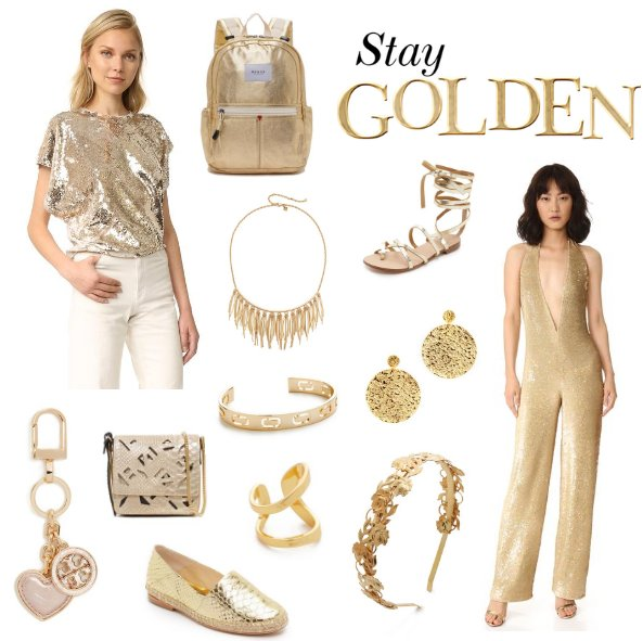 STAY GOLDEN BY SHOPBOP