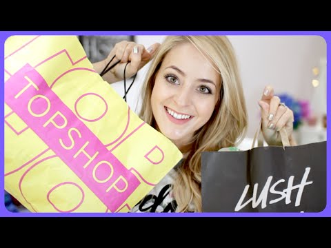 Topshop Try-On & Festive Lush HAUL! #Fleur DeForce #LoveYa #Beauty #MakeUp
