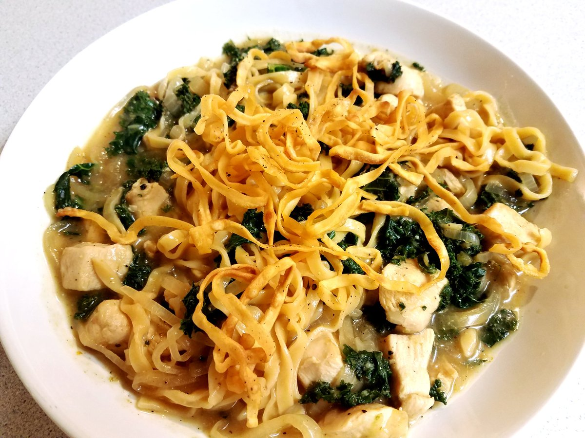 Blue apron wonton noodles - Taki Soma On Twitter Made Blueapron Chicken Khao Soi With Crispy Wonton Noodles Https T Co Vbhnh0tr2v