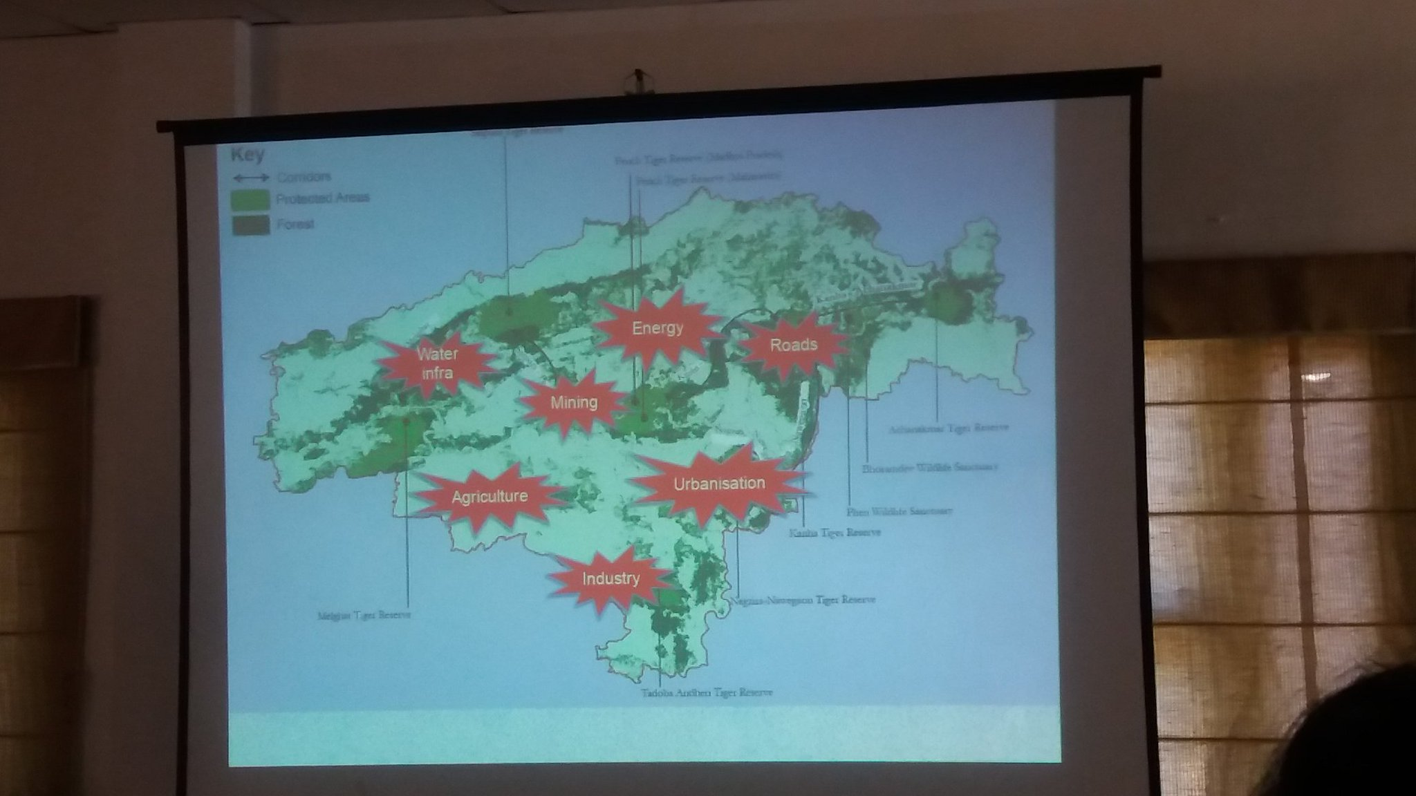 Opportunities for conservation in central india @dipankarghose @WWFINDIA  mindset change needed for effective conservation #CILS2016 https://t.co/ETgLiaH4ra