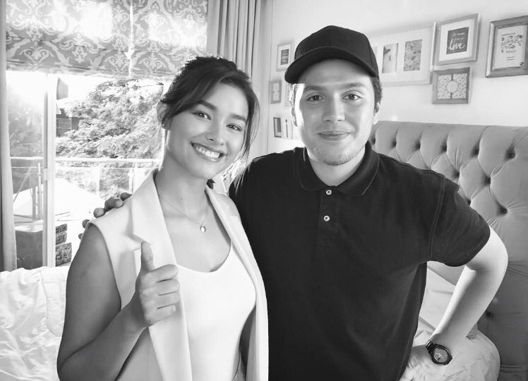 after working with @enriquegil17 now I got to work with @lizasoberano #TVC https://t.co/7cQtQFvWwB