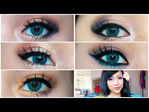 5 Makeup Looks That Make Blue Eyes Pop! by naturallybellexo