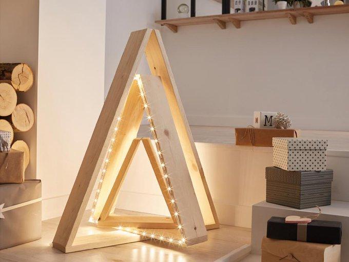 DIY : Réaliser un sapin lumineux