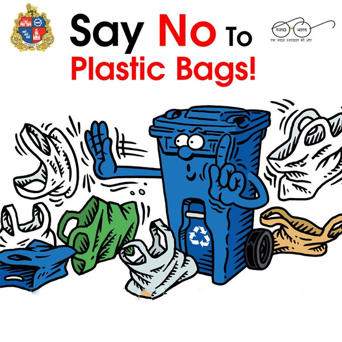 a speech on say no to plastic Arjungreen generation in action conclusion plastic carry bags lying in garbage heaps and blowing here and there has become a common sight today which not only is an eye-sore but also has.