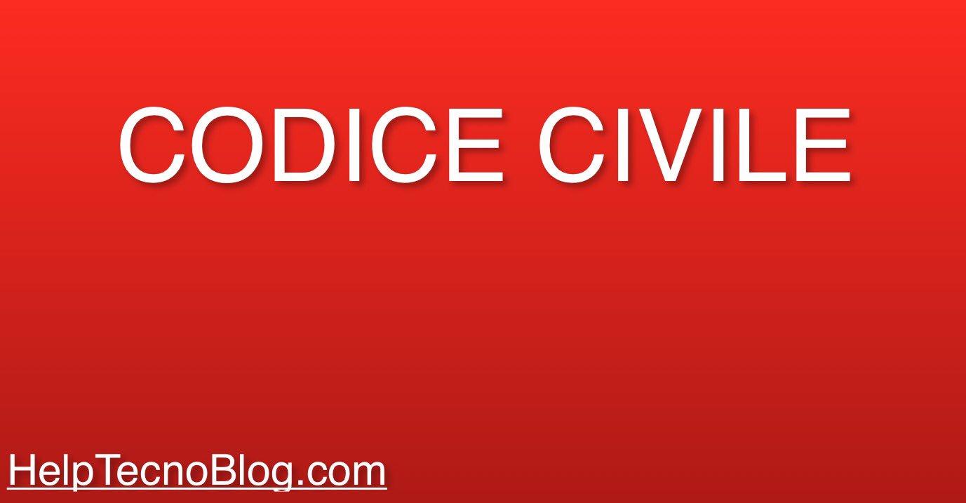 Codice Civile Libri