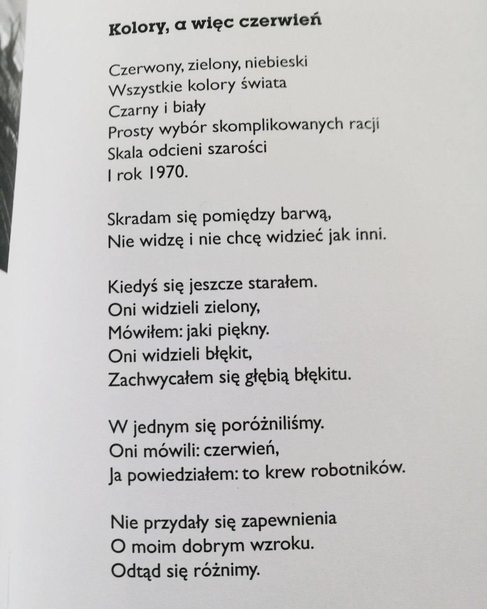 Tomasz Snarski On Twitter Mój Wiersz Z Tomiku