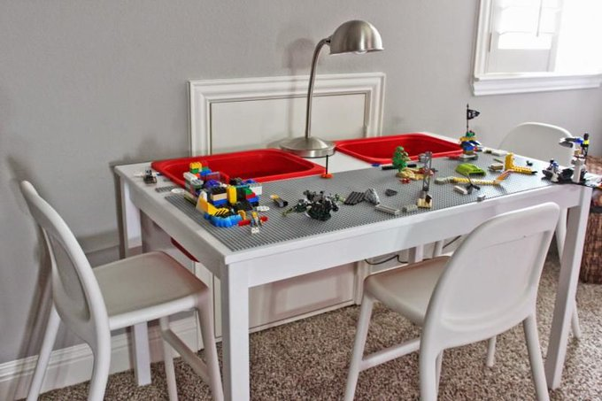LEGO IKEA Table Hack
