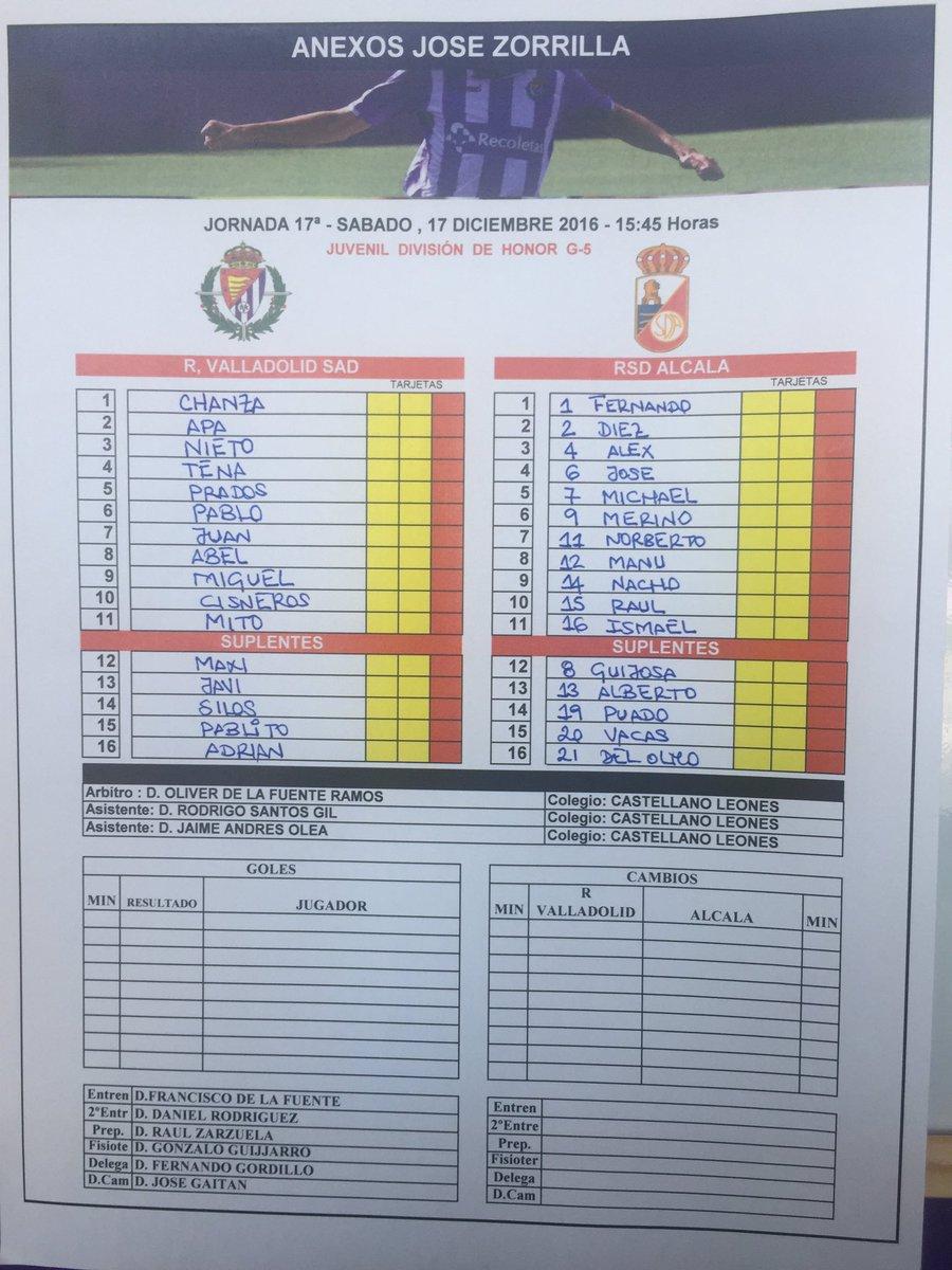 Real Valladolid Juvenil A - Temporada 2016/17 - División de Honor Grupo V - Página 11 Cz4rkcKXUAA8wnO