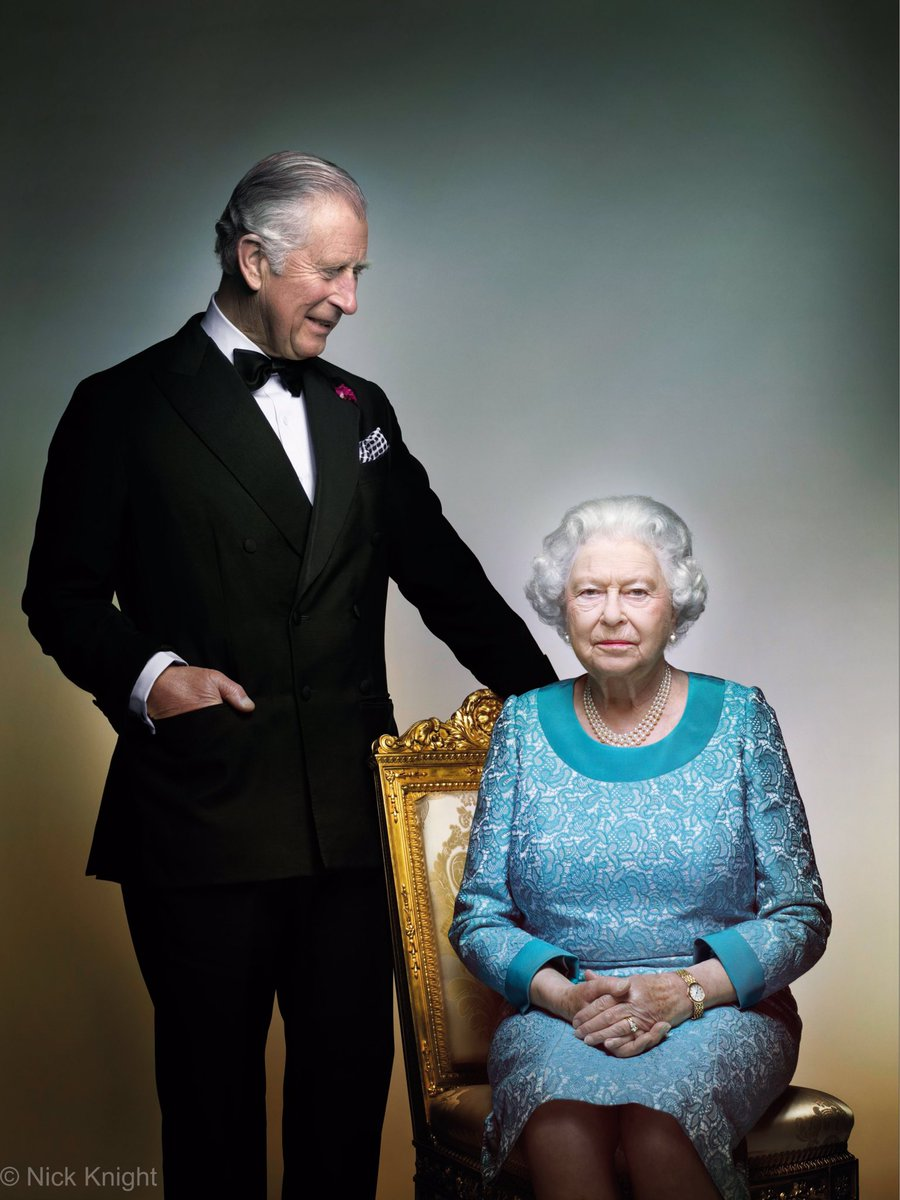 First look: As a year of 90th birthday celebrations draw to a close, we would like to share this special photo of The Prince and The Queen.