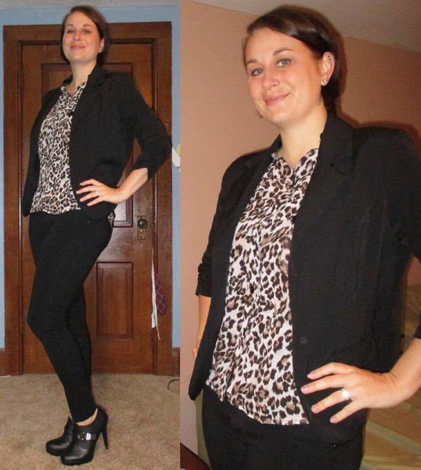 Blazer and Leopard -Featuring:SammyDress