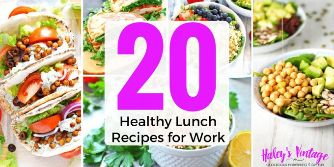 20 Healthy Lunch Recipes for Work