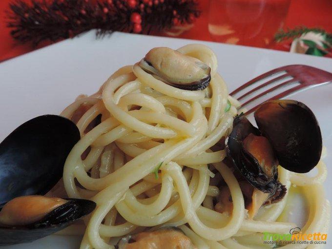 Vermicelli cozze e pecorino romano