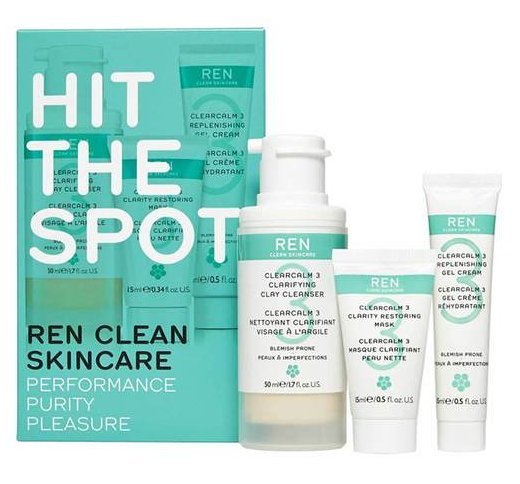 REN Hit The Spot Regime Kit